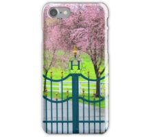 Cherry Blossom Gateway iPhone Case/Skin