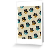 racer bear Greeting Card