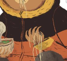 noodle bear Sticker