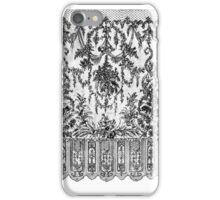 Black Lace Tapestry iPhone Case/Skin