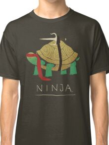 ninja - red Classic T-Shirt
