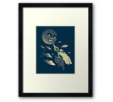 how to defeat the moon Framed Print