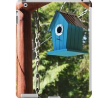 Blue Bird House iPad Case/Skin