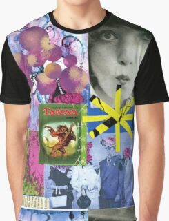 A collage  Graphic T-Shirt