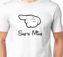 "She's Mine (Matches with ""He's Mine"") Unisex T-Shirt"
