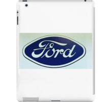 Old Retro Ford Logo iPad Case/Skin