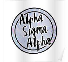 Alpha Sigma Alpha Poster