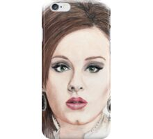 Pencil Drawing of Adele iPhone Case/Skin