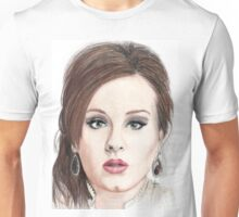 Pencil Drawing of Adele Unisex T-Shirt