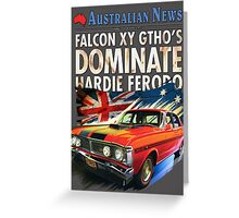 Ford Falcon XY GTHO Phase III (nostalgic) © Greeting Card