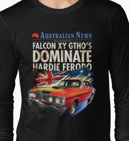 Ford Falcon XY GTHO Phase III (nostalgic) © Long Sleeve T-Shirt