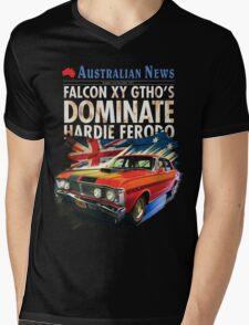 Ford Falcon XY GTHO Phase III (nostalgic) © Mens V-Neck T-Shirt