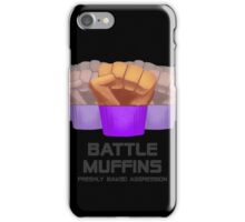 Miscellaneous - battle muffins iPhone Case/Skin