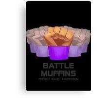 Miscellaneous - battle muffins Canvas Print