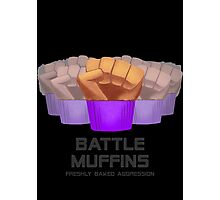 Miscellaneous - battle muffins Photographic Print