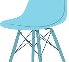 Ray & Charles Eames Side Chair Classic Design by bekindly