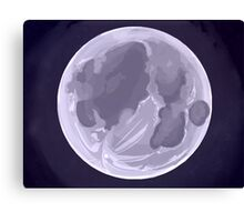 Shining Moon Canvas Print