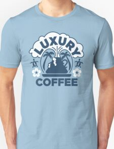 Luxury Coffee Unisex T-Shirt