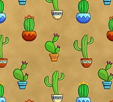 Cactus Party! by katymakesthings