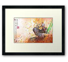 Jedi Trunks Framed Print