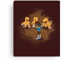 Agumon Trainer Canvas Print