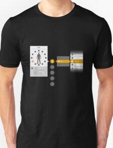 Kirito Dual Wield Menu Unisex T-Shirt