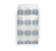 Snowflake 3 by Stephanie Burns Duvet Cover