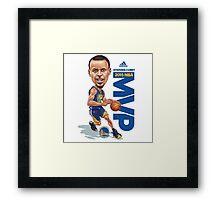 Stephen Curry MVP Framed Print