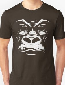Gorilla Reversed Funny Men's Hoodie T-Shirt