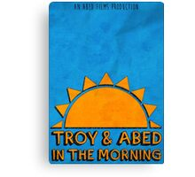 Community - Troy and Abed in the morning Canvas Print