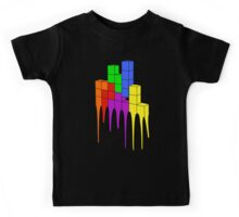 Tetris Melt Kids Tee