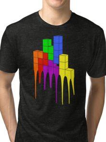 Tetris Melt Tri-blend T-Shirt