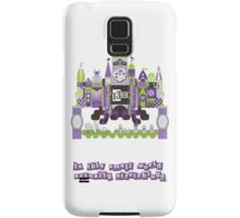 Is This Small World Actually Stretching? Samsung Galaxy Case/Skin