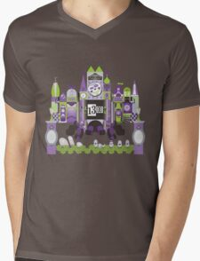 Is This Small World Actually Stretching? Mens V-Neck T-Shirt