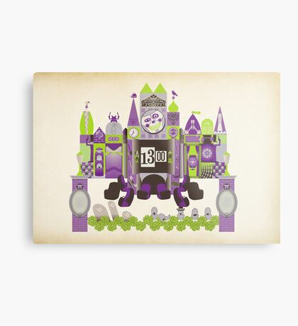 Is This Small World Actually Stretching? Metal Print