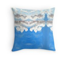 Clouds 1 by Stephanie Burns Throw Pillow