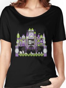 Is This Small World Actually Stretching? (for Darker Rides) Women's Relaxed Fit T-Shirt