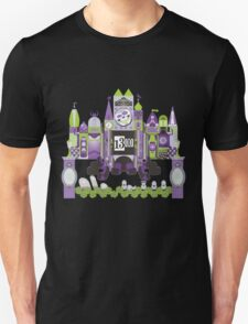 Is This Small World Actually Stretching? (for Darker Rides) Unisex T-Shirt