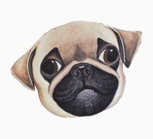 Peekaboo! Baby Pug. Kids Tee