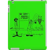 Zoo Humour - Cartoon 0007 iPad Case/Skin