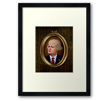 The New George Washington. Framed Print