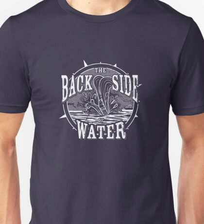 Back Side of Water (White) Unisex T-Shirt
