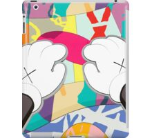 kaws paws 2 mickey   iPad Case/Skin