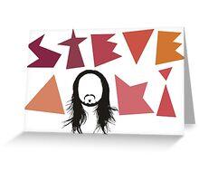 STEVE AOKI FACE Greeting Card