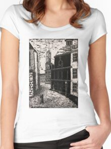 Ancient Lviv Women's Fitted Scoop T-Shirt