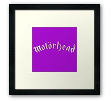 motorhead front Framed Print