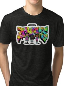 FLATBUSH ZOMBIES SWAG Tri-blend T-Shirt