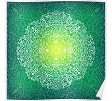 - Mandala green - Poster