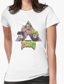 FLATBUSH ZOMBIES THE TRILOGY Womens Fitted T-Shirt