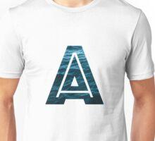 "The Letter ""A"" Ocean Unisex T-Shirt"